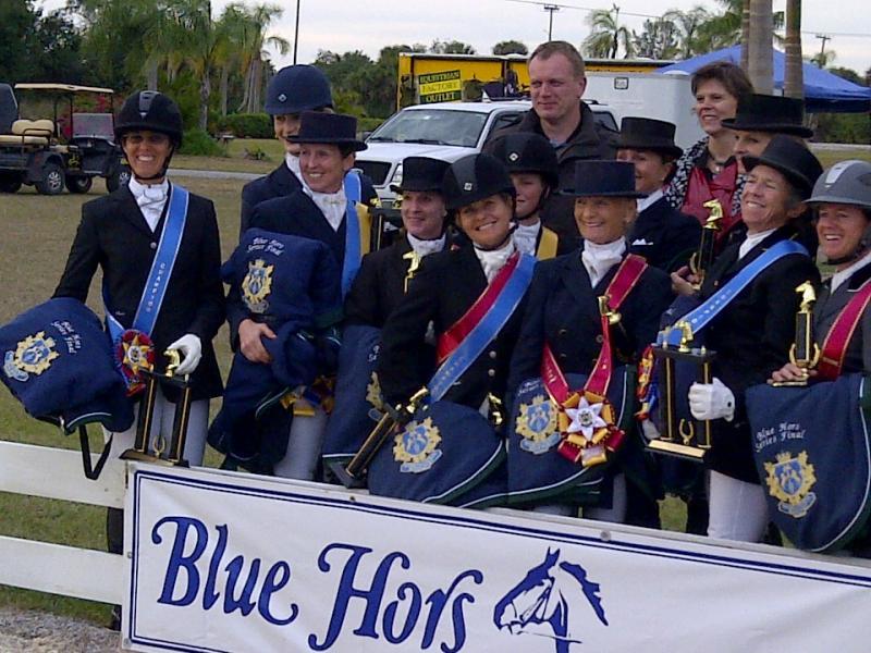 BLUE HORS CHAMPIONS 2011