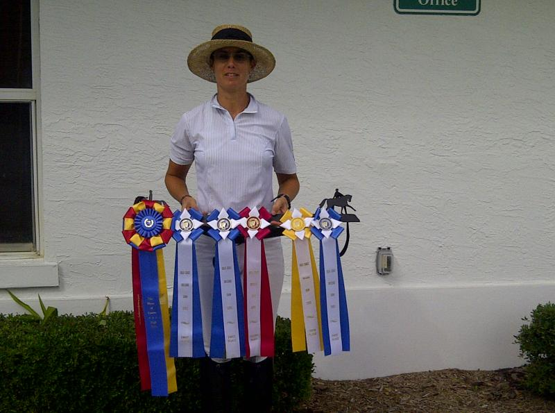 RIBBONS AT GOLD COAST MAY DRESSAGE